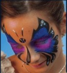 Butterfly Airbrush Face Painting