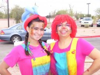 Fancy Nancy Face Painting and More! - Clown in Surprise, Arizona