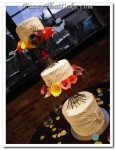 Three Tier Wedding With Calla Lilies