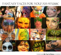 Fantasy Faces For You! - Body Painter in Alexandria, Virginia