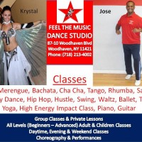 Feel The Music Dance Studio - Hip Hop Dancer in Jersey City, New Jersey