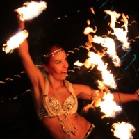 Fire A La Mode - Fire Dancer in Miami Beach, Florida