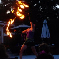 Fire Dancing by Wild Celtic Rose - Dance in Olympia, Washington