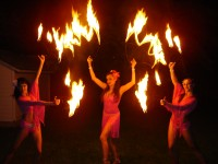 Fire Goddess - Fire Dancer in Coral Gables, Florida