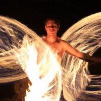 Nameless Fire - Fire Dancer in San Luis Obispo, California