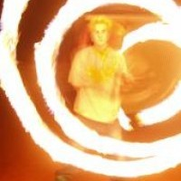 Fire Poi Turtle - Fire Dancer in Tempe, Arizona