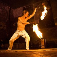 Chris Brown - Fire Poi Specialist - Fire Performer in Collierville, Tennessee