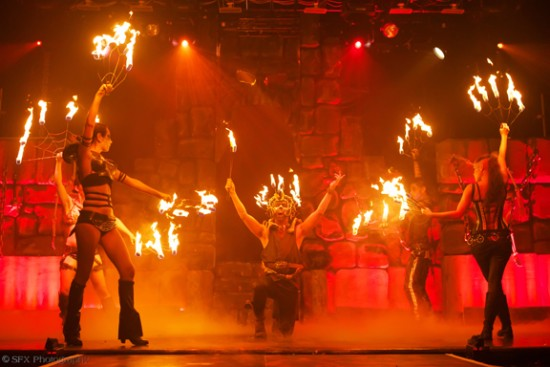Flambeaux Fire Troupe