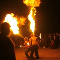 Flames Of The Wolf - Fire Eater in Houston, Texas