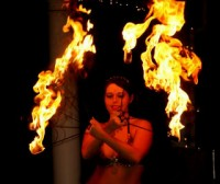 Flash Point Performers - Fire Dancer in Orange County, California