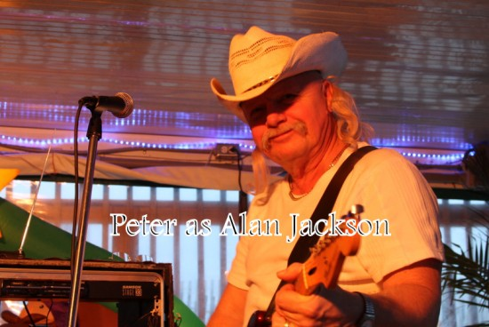 Peter as Alan Jackson