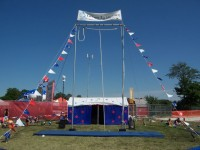 Forms In Motion - Traveling Circus in Racine, Wisconsin