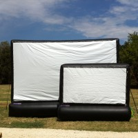 Fort Worth Outdoor Movies - Inflatable Movie Screen Rentals in Denton, Texas