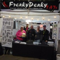 FreakyDeaky TATs - Temporary Airbrush Tattoos - Inflatable Movie Screen Rentals in Tucson, Arizona