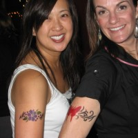 Freckles Airbrush Tattoos - Airbrush Artist / Body Painter in San Jose, California