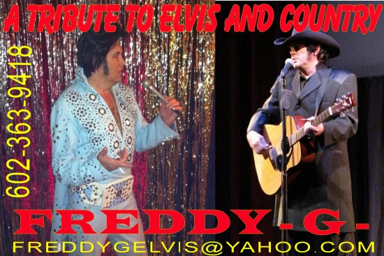 ADD FOR ELVIS COUNTRY SHOW