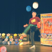 Frisbee Guy - Interactive Performer in Martinsville, Virginia