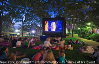 FunFlicks In & Outdoor Movies of New York - Traveling Theatre in Stamford, Connecticut