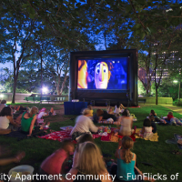 FunFlicks In & Outdoor Movies of New York - Inflatable Movie Screens / Karaoke DJ in Jericho, New York