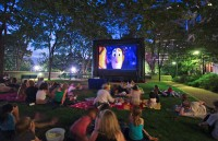FunFlicks Outdoor Movies - Inflatable Movie Screen Rentals in New London, Connecticut