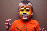 Funky Monkey Face Painting - Hair Stylist in ,