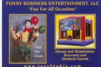 Funny Business Entertainment - Clown in Burlington, Vermont