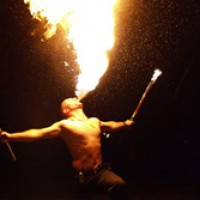 Funtown Productions - Fire Dancer in Newark, Delaware