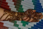 Traditional Henna design