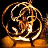 Fyregod Zor - Fire Performer in Santa Barbara, California
