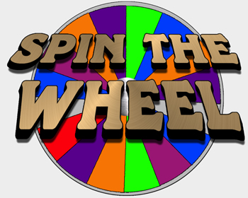 Spin the Wheel - Easy to Customize for Your Event