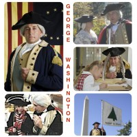 George Washington LIVE! - Folk Singer in Roanoke Rapids, North Carolina