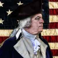 George Washington Portrayed by Dean Malissa - Look-Alike in Trenton, New Jersey