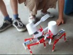 Voice Command Solar Powered Robot Racing