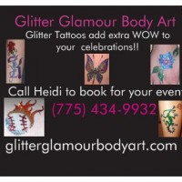 Glitter Glamour Body Art - Horse Drawn Carriage in Reno, Nevada