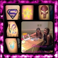 Glitterazzi - Temporary Tattoo Artist in Boca Raton, Florida