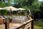 Outdoor Wedding Deck