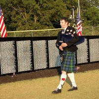Graeme Smith - Bagpiper in Athens, Georgia
