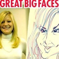 Great Big Faces - Caricaturist in Fairfax, Virginia