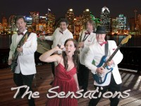 The SensationS Band - Motown Group in San Diego, California