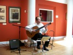 Nicolai Tanev performing at Oglethorpe University Museum of Art ( Atlanta)