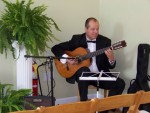 Nicolai Tanev playing wedding music at the Solarium, Decatur GA