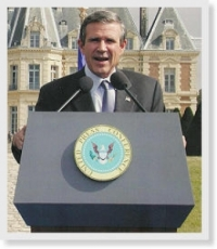George W. Bush Impersonator