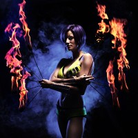 Harmony Jorden - Fire Dancer in Kenmore, Washington