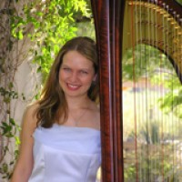 Harpist Kate Loughrey - Celtic Music in San Marcos, California