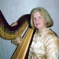 Harpist Roxanne Urfer - Classical Ensemble in Brunswick, Georgia
