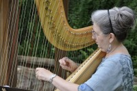Harpist Susan Koskelin - Bagpiper in Irving, Texas