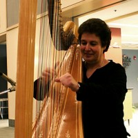 Harpist / Myra Kovary - Cajun Band in Cortland, New York
