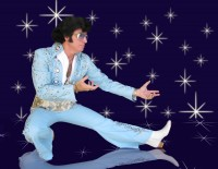 Harvey McFadden - Elvis Impersonator in Abilene, Texas