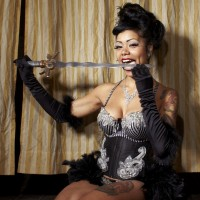 Heather Holliday - Sword Swallower in ,