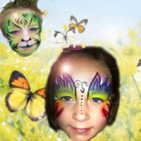 Hippsylake Professional Face Painting - Party Favors Company in Muskegon, Michigan
